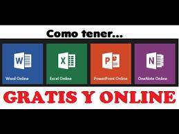 word powerpoint online como tener gratis y online word powerpoint excel onenote 2014