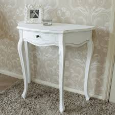 half table for hallway. White Wooden Half Moon Table Shabby French Chic Country Living Room Hallway For D