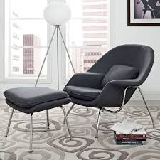 eero womb chair light grey