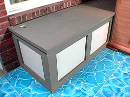 how to build a storage bench how tos diy within waterproof outdoor cushion storage box waterproof