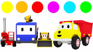 Tiny Trucks Learn Colors With Tiny Trucks And Ethan The Dump Truck