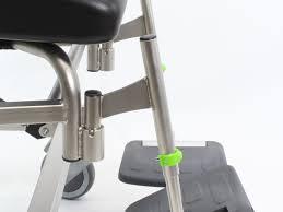 New Walker Design New Design For Mfx Foot Support Mobile Shower Commode