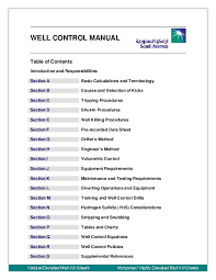 Well Control Formulas Charts And Tables Free Download Pdf Well Control Manual Dragan Kralj Academia Edu