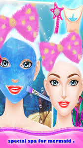 mermaid makeup salon s games spa dressup