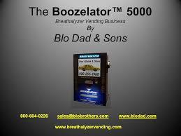 Breathalyzer Vending Machine Reviews Fascinating The Boozelator™ 48 Breathalyzer Vending Business By Blo Dad Sons