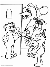 Fresh Of Sesame Street Printable Coloring Pages Pictures Printable