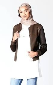 faux brown leather jacket faux leather jacket with mesh sleeves in brown brown faux leather er faux brown leather jacket