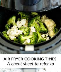 Printable Cheat Sheet For Air Fryer Oven