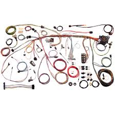 american autowire 510243 mustang wiring harness classic kit 1970 2004 mustang radio auxiliary at 2004 Mustang Wiring Harness