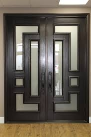 modern double entry doors. Modern Double Front Entry Doors With Glass O