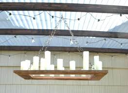 how to make your own rustic candle outdoor chandelier rustic outdoor chandelier rustic outdoor candle chandelier