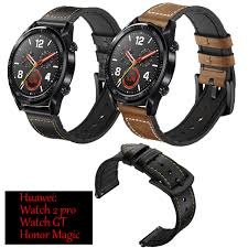 for huawei watch gt strap silicone leather bands sports smart watch wristband 22mm band watch