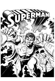 Coloring spiderman and superman ( vote13, the average rating: Superman Coloring Pages Coloring Rocks