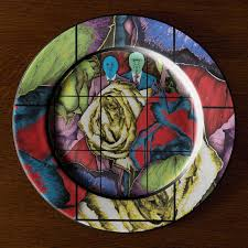 Creative Plate Designs Gilbert George Serve Art On A Plate To Help Feed Londons