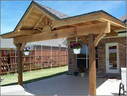 wood patio covers. Pine Wood Patio Cover Installation Covers N