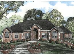 luxury house plan front image 055s 0046 house planore