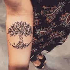 Right Inner Upper Arm Treetattootattoarboldelavida родовое