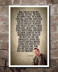 Bull Durham Quotes Classy BULL DURHAM Crash Davis I Believe Quote Poster Etsy