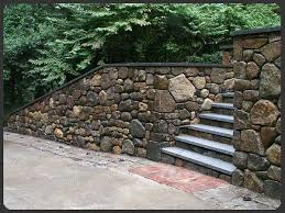 Small Picture Stone Retaining Wall Design Monumental Retaining Wall 1 nightvaleco