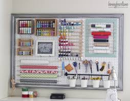 pegboard gift wrapping