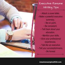 Executive Resume Writing Tips Best Executive Resume Examples 2019 That Work