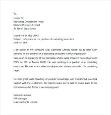 Immigration Reference Letter Samples Personal Reference Letter To