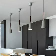 kitchen pendant light wood modern