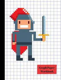 Knight Math Hero 4x4 Quad Graph Paper Workbook By True North