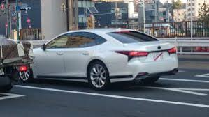 2018 lexus 450d. delighful 2018 2017 lexus ls spotted in the wild with no camouflage to 2018 lexus 450d n
