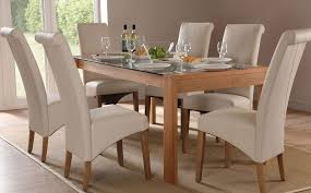 Dining Room Table Sets Leather Chairs Collection Interesting Design