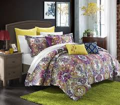 Paisley Bedroom Total Fab Purple Paisley Comforters Bedding Sets