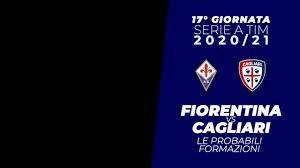 Serie A 2020-21: Fiorentina - Cagliari le probabili formazioni -  ZonaCalcioFaidate