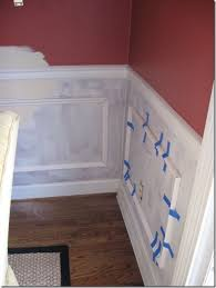 tips for adding wainscoting the ugly duckling house diy home improvement molding my thoughts