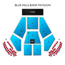 Rockland Trust Bank Pavilion 2019 Seating Chart