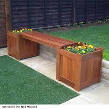 garden bench planter box. greenfingers planter box garden bench i