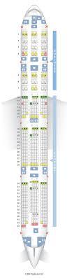 Seatguru Seat Map Qatar Airways Boeing 777 300er 77w V1