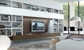 full image for beautifulwall unit storage solutions wall ideas desk tv