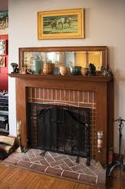 this original mantel in a sears hazelton was an upgrade to the original kit plan