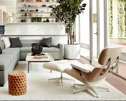 eames lounge ottoman white ash item1