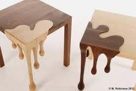 Image Side Table Unique Wooden Table Droplets Sculpture Fusion Home Inovayapico Unique Wooden Table Droplets Sculpture Fusion Home Tierra Este