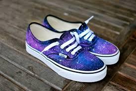 Galaxy Design Shoes Galaxy Vans Shoes Custom Hand Painted Galaxy On Vans