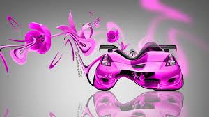 toyota celica jdm fantasy plastic flowers car