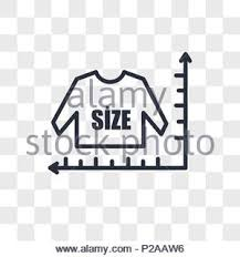 Shirt Sizing Icon Stock Vector Art Illustration Vector