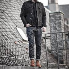 how to wear male boots outfits styles