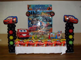 Disney Theme Decorations Table Centerpieces For Parties Cars Party Party Decorations By