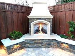 corner backyard landscaping ideas with fire pit