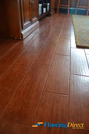 made from glazed porcelain or ceramic tiles wood look tile is designed to look nearly indistinguishable from engineered hardwood flooring