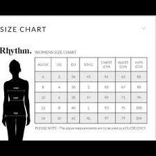 Rhythm Swim Size Chart Rhythm Kauai Bikini Bottoms