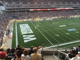 Investors Group Field Section 214 Home Of Winnipeg Blue