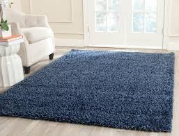 refundable solid navy blue area rug plush pile contemporary rugs and